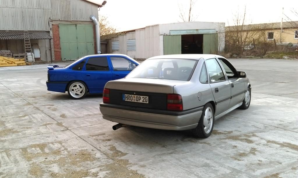 Vectra A - Winterauto ist da  IMAG00343