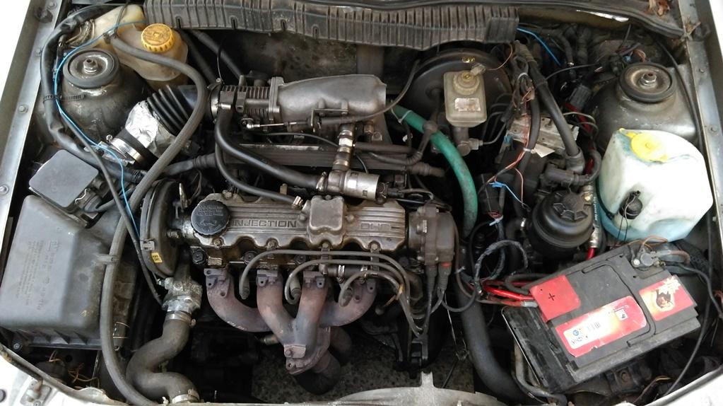 Vectra A - Winterauto ist da  IMAG00344