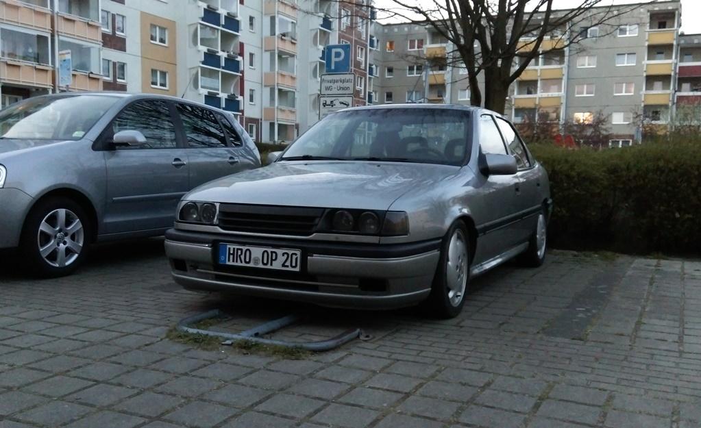 Vectra A - Winterauto ist da  IMAG00354